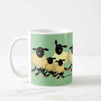 Sheep on mug