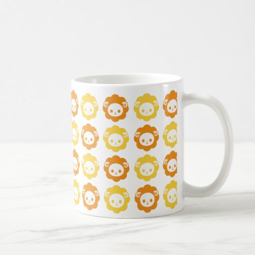 sheep orange coffee mugs