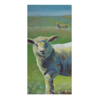 Sheep Painting Posters