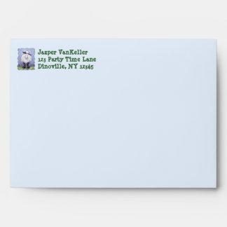 Sheep Party Center Envelope