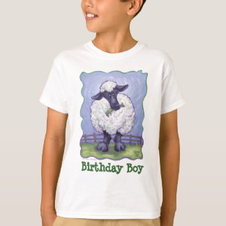 Sheep Party Center T-Shirt