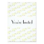 "Sheep Pattern. 5"" X 7"" Invitation Card"
