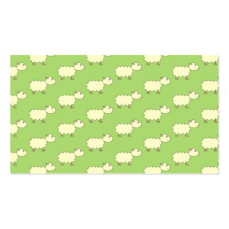Sheep Pattern. Business Cards