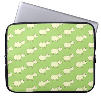 Sheep Pattern. Computer Sleeves
