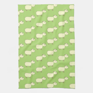 Sheep Pattern. Towels