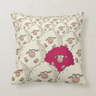 Sheep Pattern Pillow