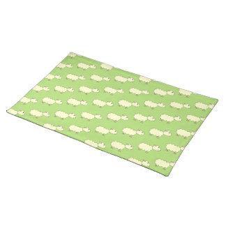 Sheep Pattern. Place Mat