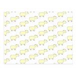 Sheep Pattern. Postcards