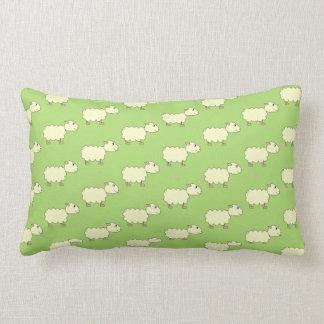 Sheep Pattern. Throw Pillows