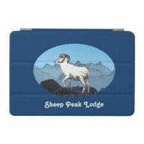 Sheep Peak Lodge iPad Mini Cover