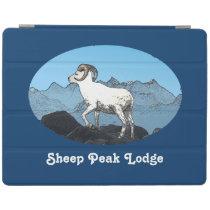 Sheep Peak Lodge iPad Smart Cover