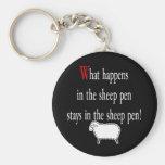Sheep Pen Key Chains