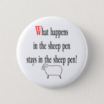 Sheep Pen Pinback Button
