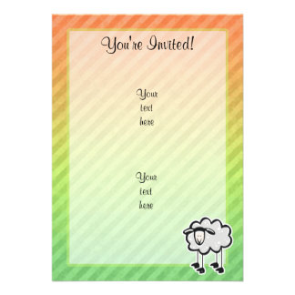 Sheep Personalized Invite