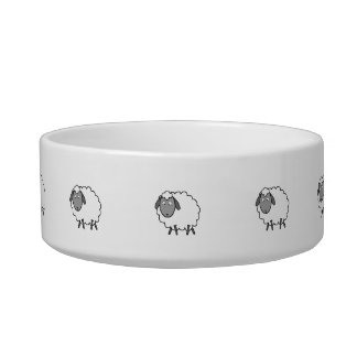 Sheep Pet Water Bowls