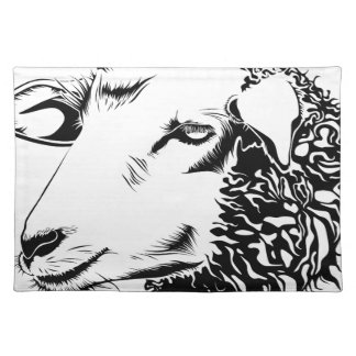 sheep placemat