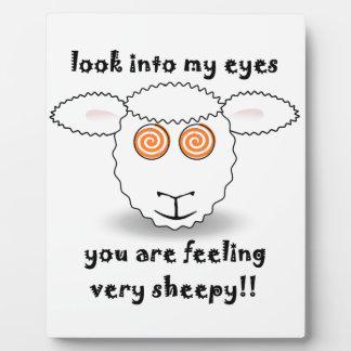 sheep plaque