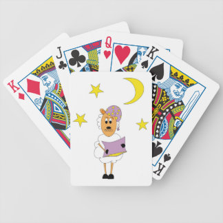 Sheep - property night bicycle playing cards