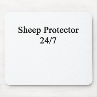 Sheep Protector 24/7 Mouse Pad