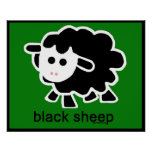 sheep.psd negro posters