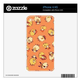 Sheep Raid the Dress-Ups iPhone 4S Skins