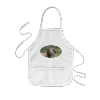 Sheep - Rams Head Kids' Apron