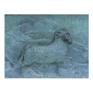 Sheep Relief Postcard