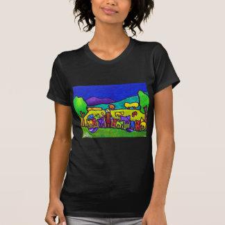 Sheep Roundup by Piliero T-Shirt