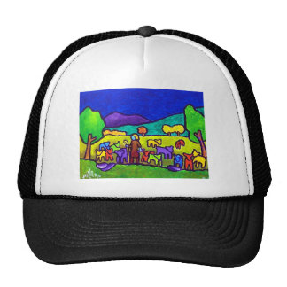 Sheep Roundup by Piliero Trucker Hat