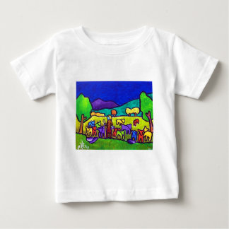 Sheep Roundup by Piliero Tee Shirts