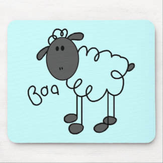 Sheep Says Baa T-shirts and Gifts Mouse Pad