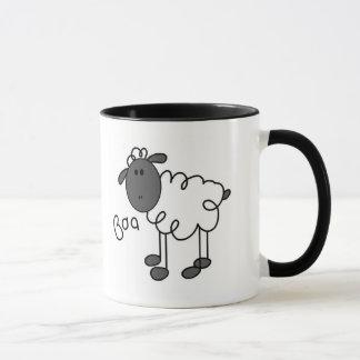 Sheep Says Baa Tshirts and Gifts Mug