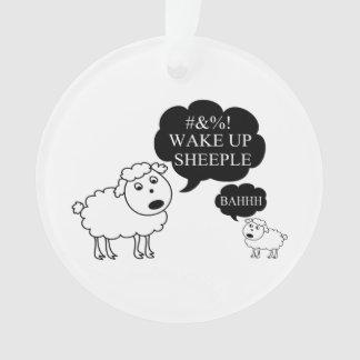 Sheep Says Wake Up Sheeple