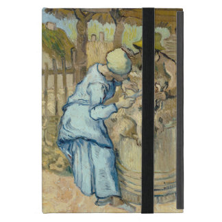 Sheep Shearer after Millet by Vincent Van Gogh Cover For iPad Mini