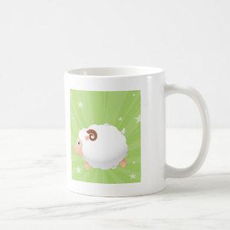 Sheep Sheeps Mammals White Cute Animal Mugs