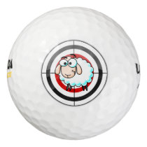 Sheep Shot Wilson Ultra 500 Distance Golf Ball