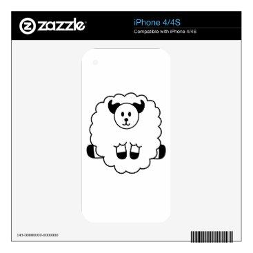 jasmineflynn Sheep Skin For iPhone 4