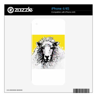 Sheep Skins For The iPhone 4