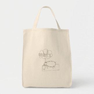 Sheep Sleep Tote Bag