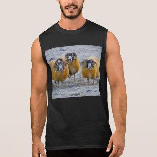 Sheep Sleeveless Shirt
