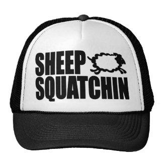 SHEEP SQUATCHIN Monsters & Mysteries SHEEPSQUATCH Trucker Hat