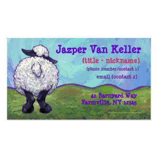Sheep Stationery Business Card Template