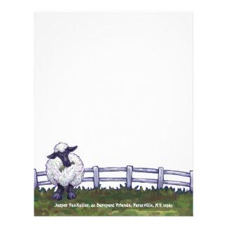 Sheep Stationery Letterhead