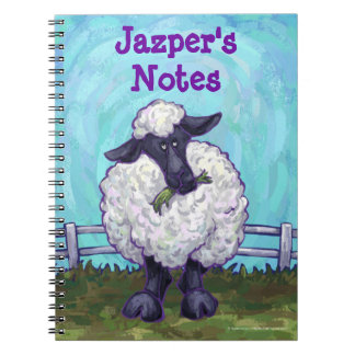 Sheep Stationery Notebook