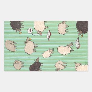 Sheep Rectangular Sticker