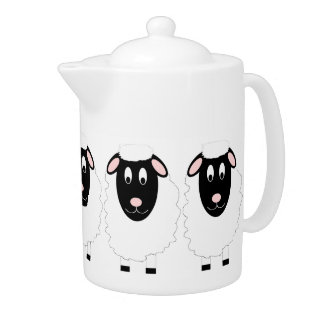 Sheep Teapot at Zazzle