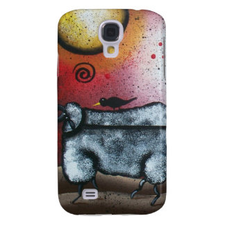 Sheep Wagon, By Lori Everett Galaxy S4 Cover