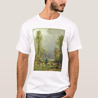 Sheep watching a Storm T-Shirt