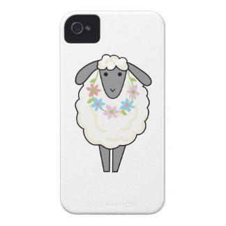 SHEEP WEARING LEI iPhone 4 COVER