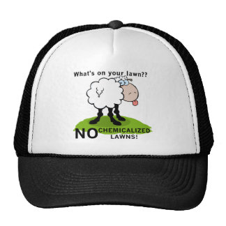Sheep What's On Your Lawn T-shirts and Gifts Mesh Hat